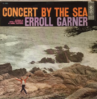 Erroll Garner - Concert By The Sea (LP) (EX-/G+)
